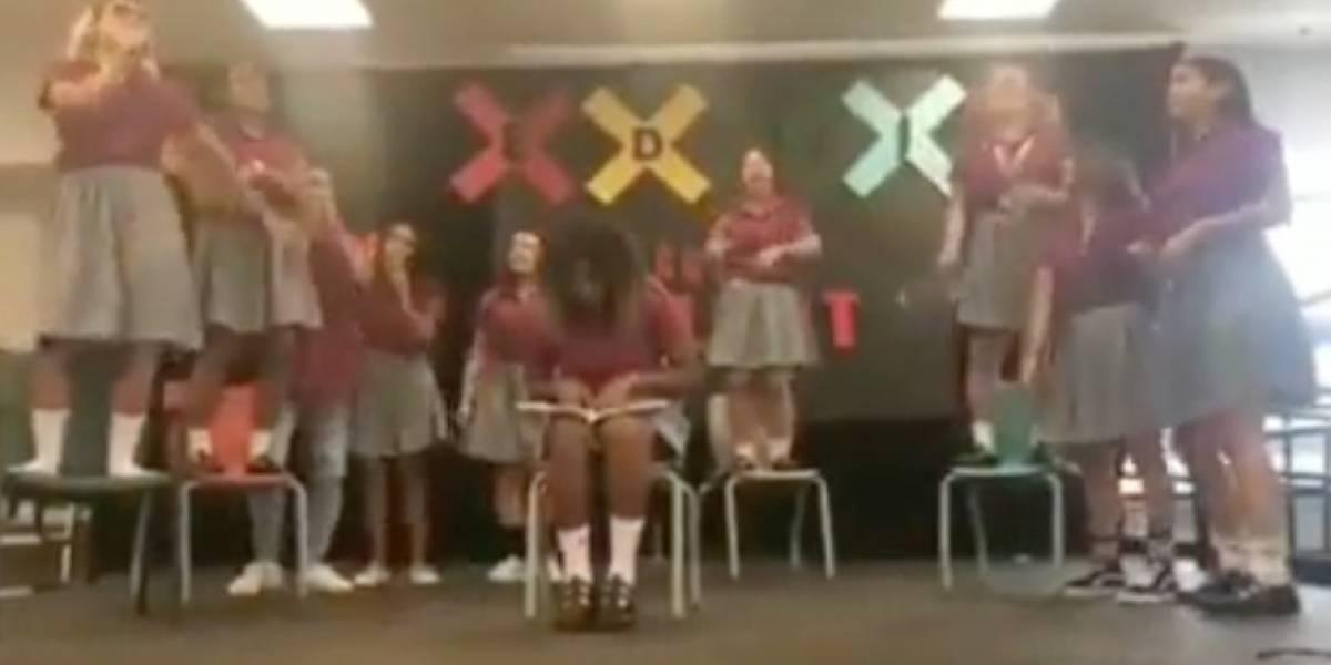 Canción de Bad Bunny inspira a estudiantes de escuela de Deportes de San Juan