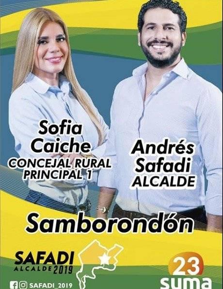 Sofía Caiche candidata a Concejala