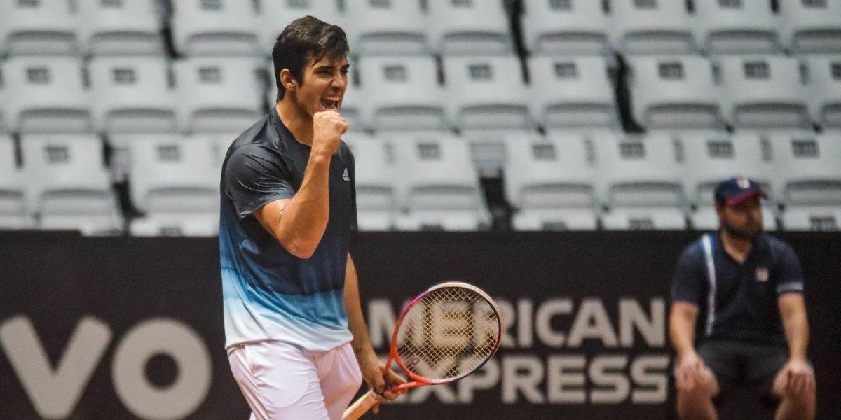 """Garín no se conforma con la semifinal en Sao Paulo: """"Me quedan muchas cosas por seguir mejorando"""""""