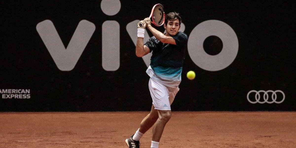 Un luchador Garín derrota a Mayer y alcanza la primera semifinal ATP de su carrera en Sao Paulo