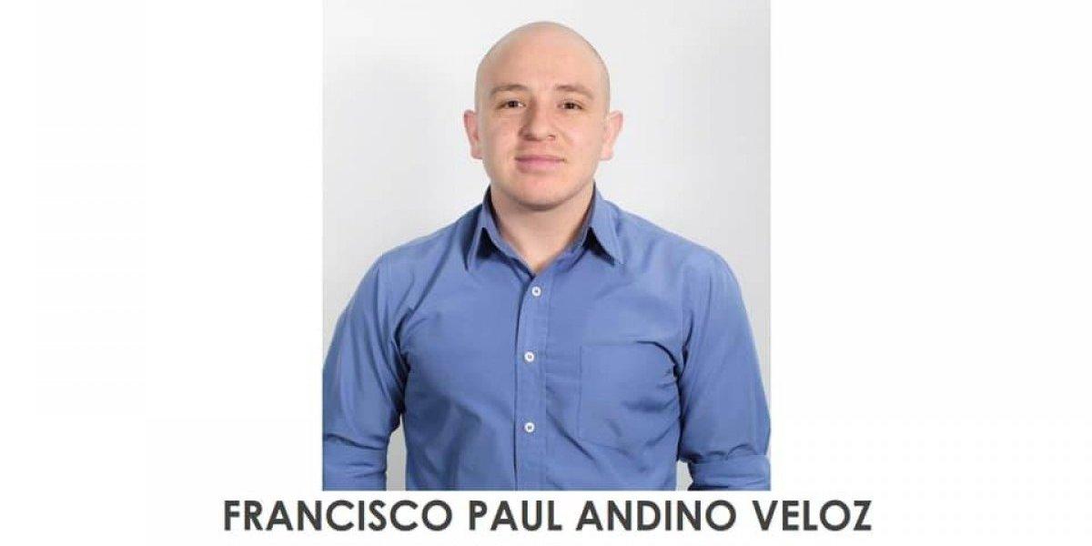 Francisco Paúl Andino fue visto por última vez en el sector de la Rumiñahui