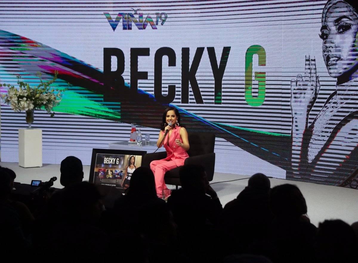 Becky G responde a las críticas de sus letras EFE