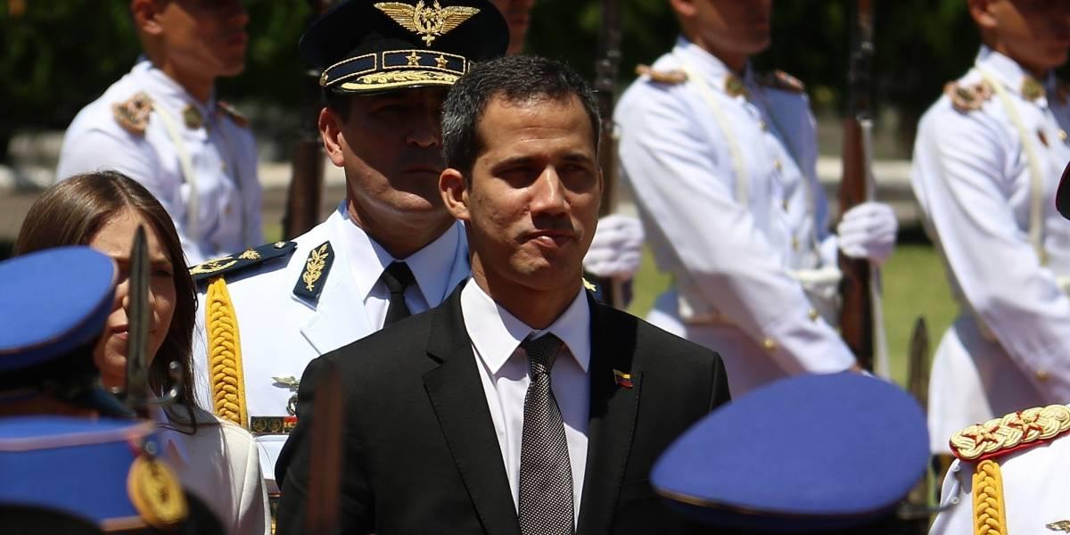 Avión en el que viaja Juan Guaidó es de la Fuerza Aérea Colombiana