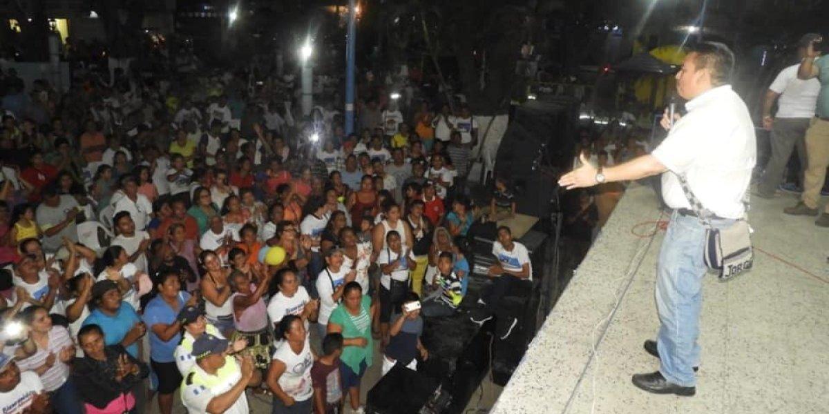 Jorge Rizzo retoma funciones como alcalde tras ser absuelto en caso de corrupción
