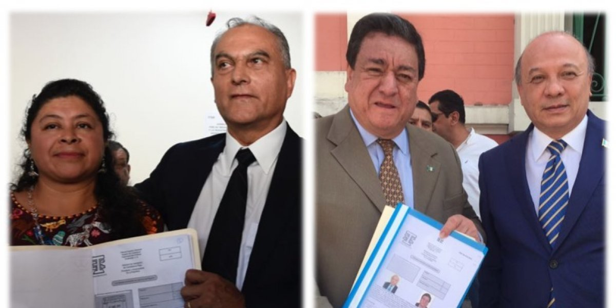 Partidos Winaq y PPT buscan inscribir a sus binomios presidenciales en el TSE