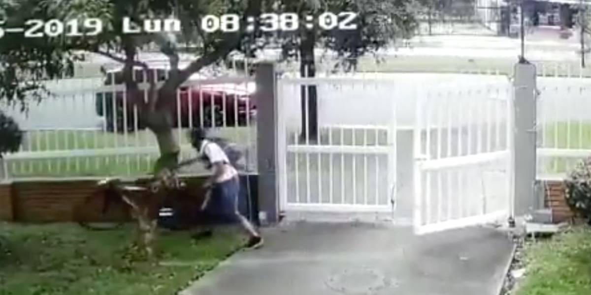 VIDEO: conductor de una camioneta siguió a un biciusuario y le disparó en Bogotá