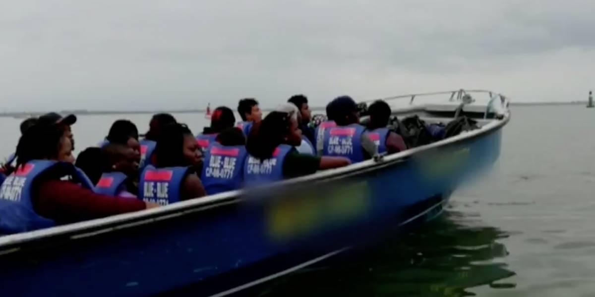 Tétrico relato: Balseros que hundieron barca llena africanos estaban drogados