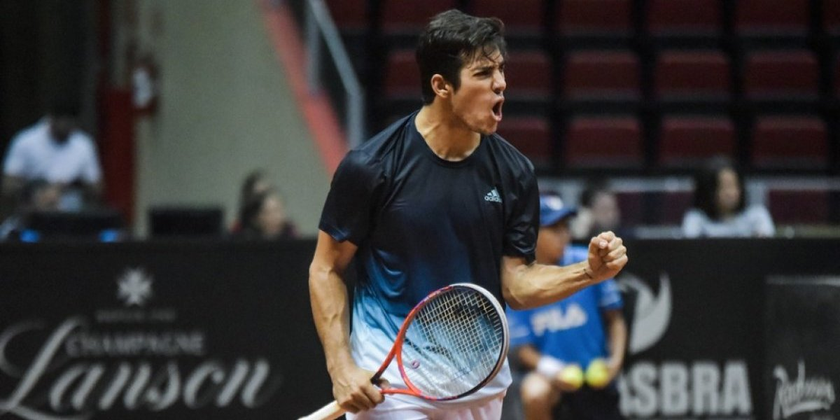 ¿Cuándo y a qué hora juega Christian Garín en las semifinales del ATP de Sao Paulo?