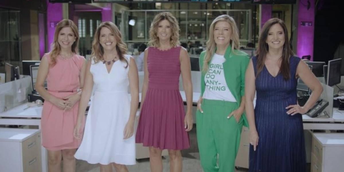 Día de la Mujer: CNN y Chilevisión realizarán cobertura especial desde este domingo