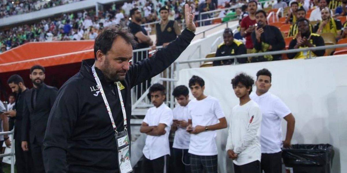 José Luis Sierra se reencontró con Paulo Díaz y Claudio Baeza en su reestreno en el Al-Ittihad