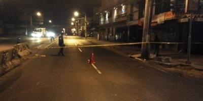 motorista fallecido en calzada San Juan