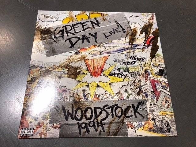 Green Day Woodstock 94