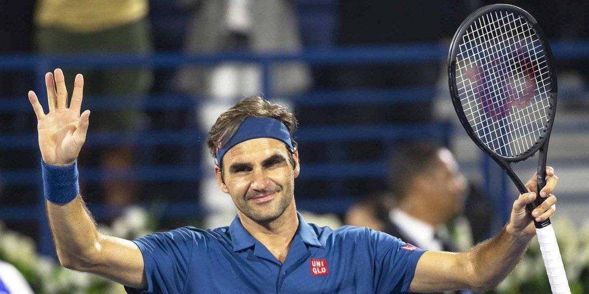 Federer llega a otra final en Dubai y queda a un triunfo del título 100 de su increíble carrera