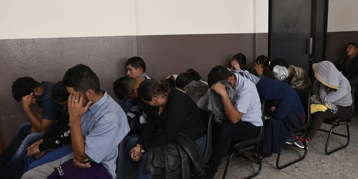 Tribunal impone penas de seis años de cárcel a 26 extorsionistas