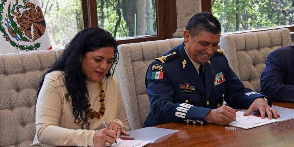 Formalizan entrega de Los Pinos a la Secretaría de Cultura