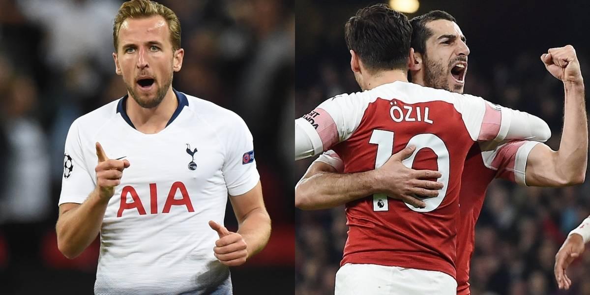 Tottenham y Arsenal protagonizan una nueva edición del clásico londinense