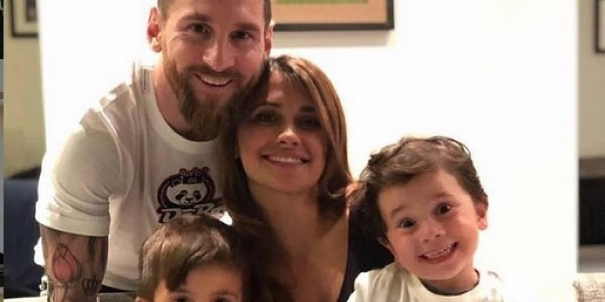 """Hijos de Messi y Suárez derraman """"magia"""" con sus disfraces de Carnaval"""