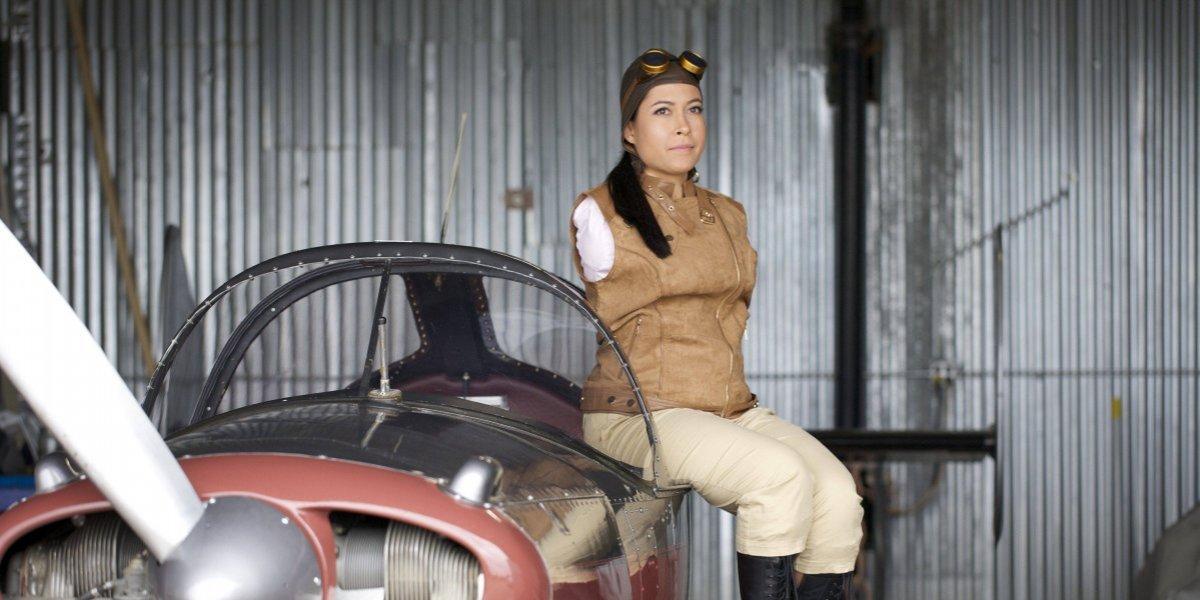 Jessica Cox, la primera mujer en pilotar aviones ligeros con los pies