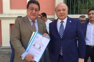 José Chea Urruela y Mario González, binomio presidencial del Partido Productividad y Trabajo