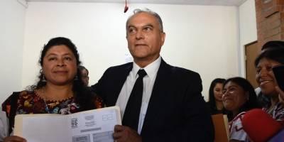 Manuel Villacorta y Liliana Hernández, binomio presidencial de Winaq