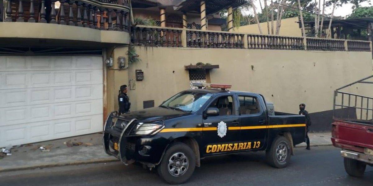 PNC y MP realizan operativo contra el narcotráfico