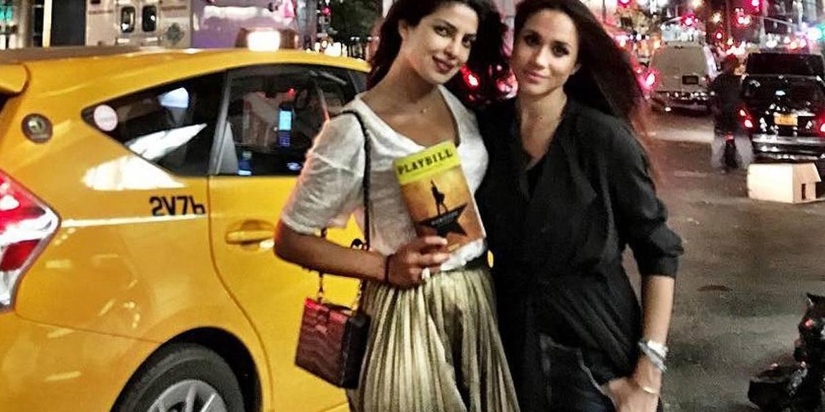 Amiga próxima de Meghan Markle, Priyanka Chopra está chateada com a duquesa; saiba o motivo