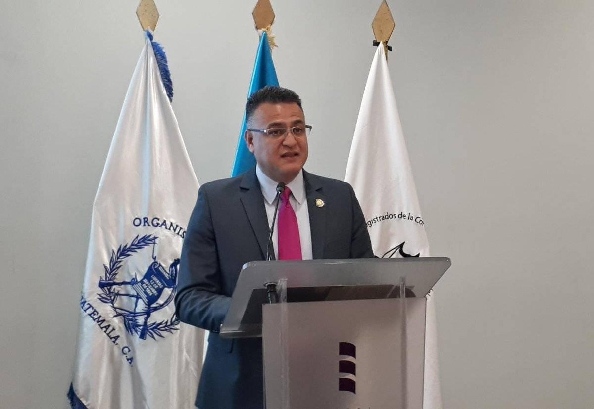Roberto Mota Bonilla, director de Seguridad Institucional del OJ. Foto: OJ