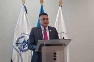 Roberto Mota Bonilla, director de Seguridad Institucional del OJ.