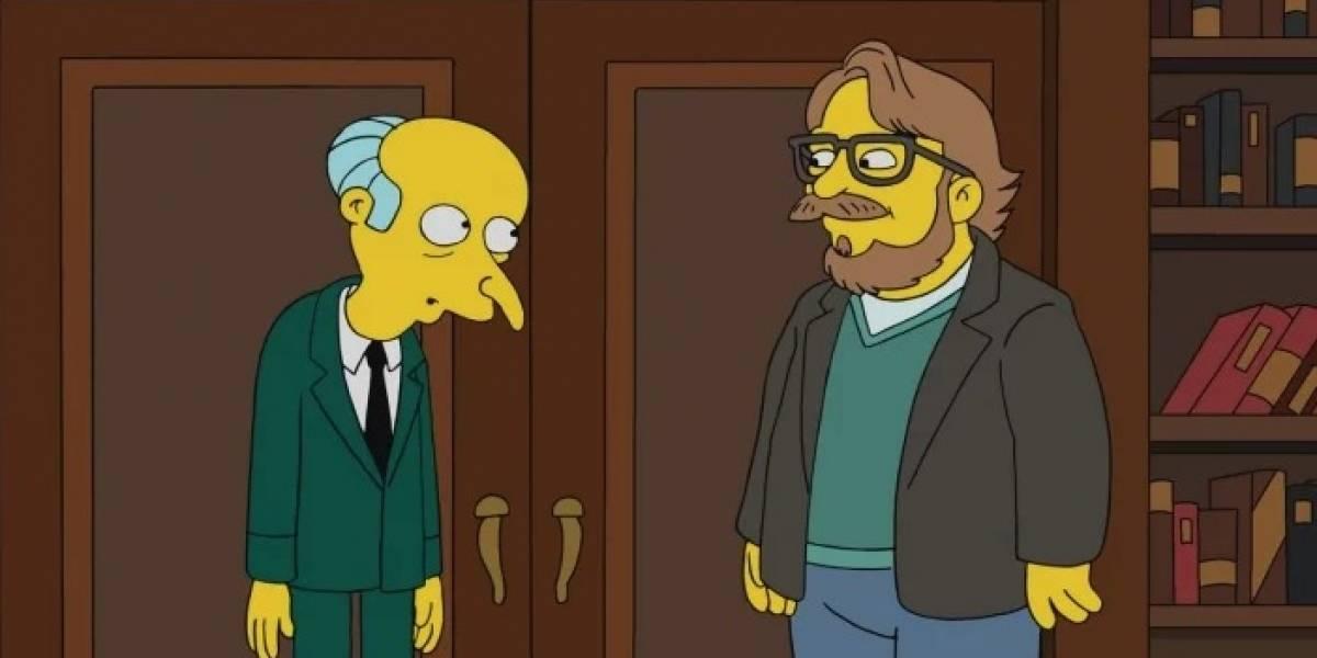 Guillermo del Toro hará su aparición en Los Simpsons