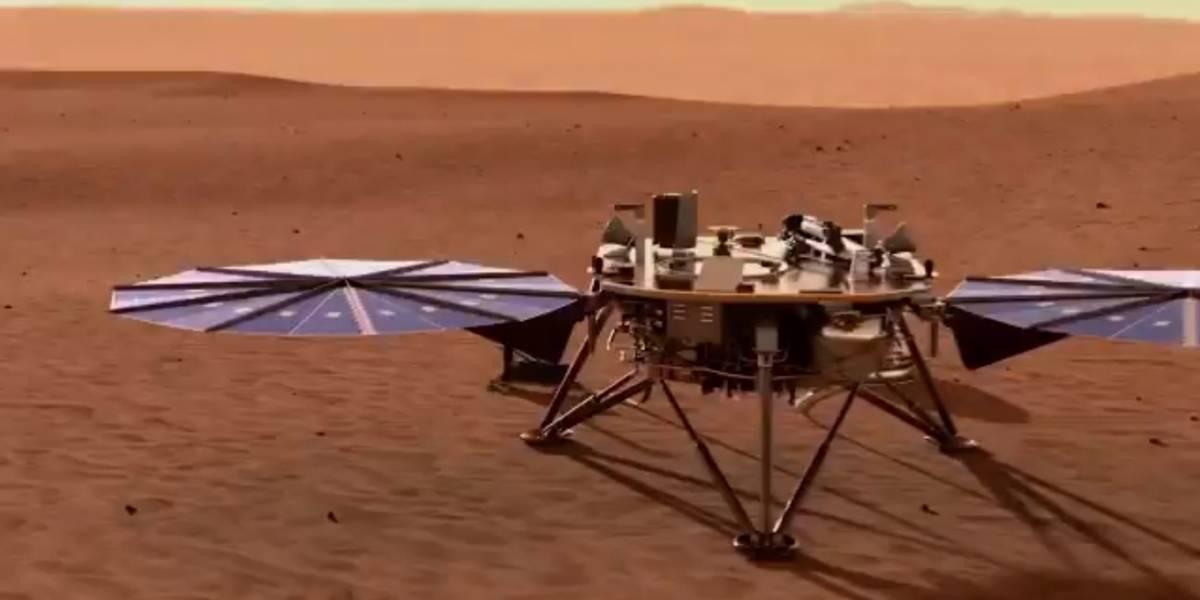 Para conhecer detalhes de Marte, Sonda enviada pela NASA fará buraco no planeta vermelho