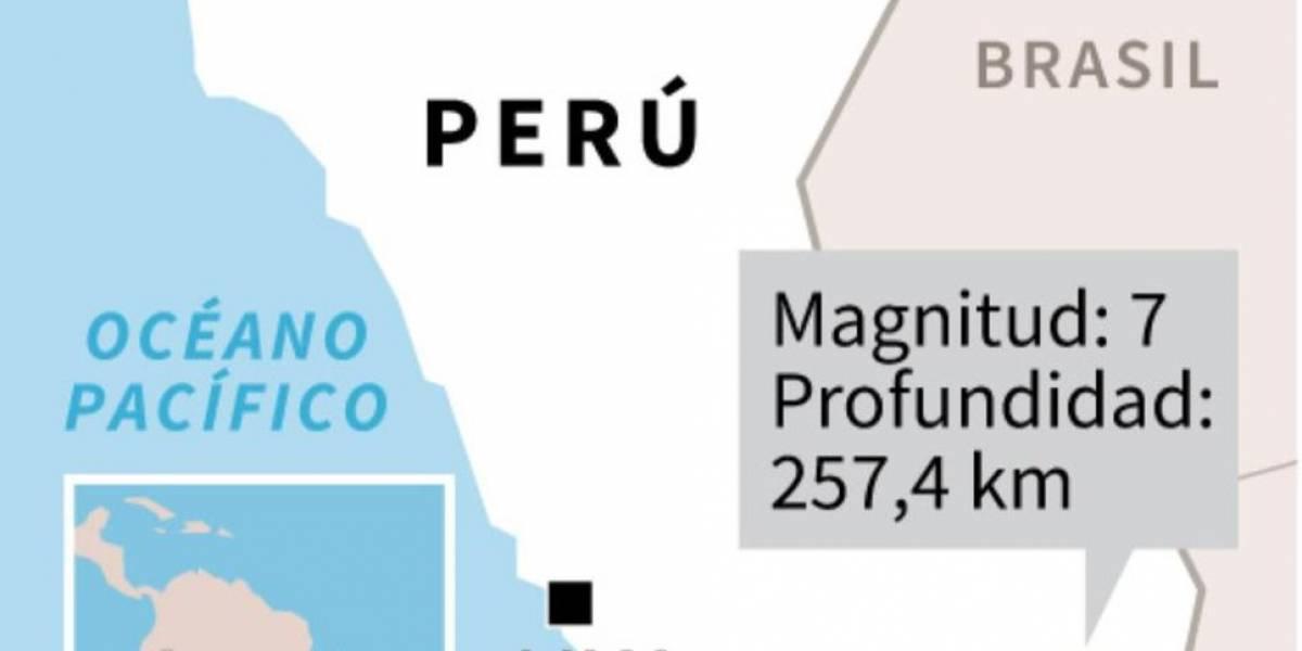 Un sismo de 7 grados de magnitud sacude frontera de Perú, Bolivia y Chile