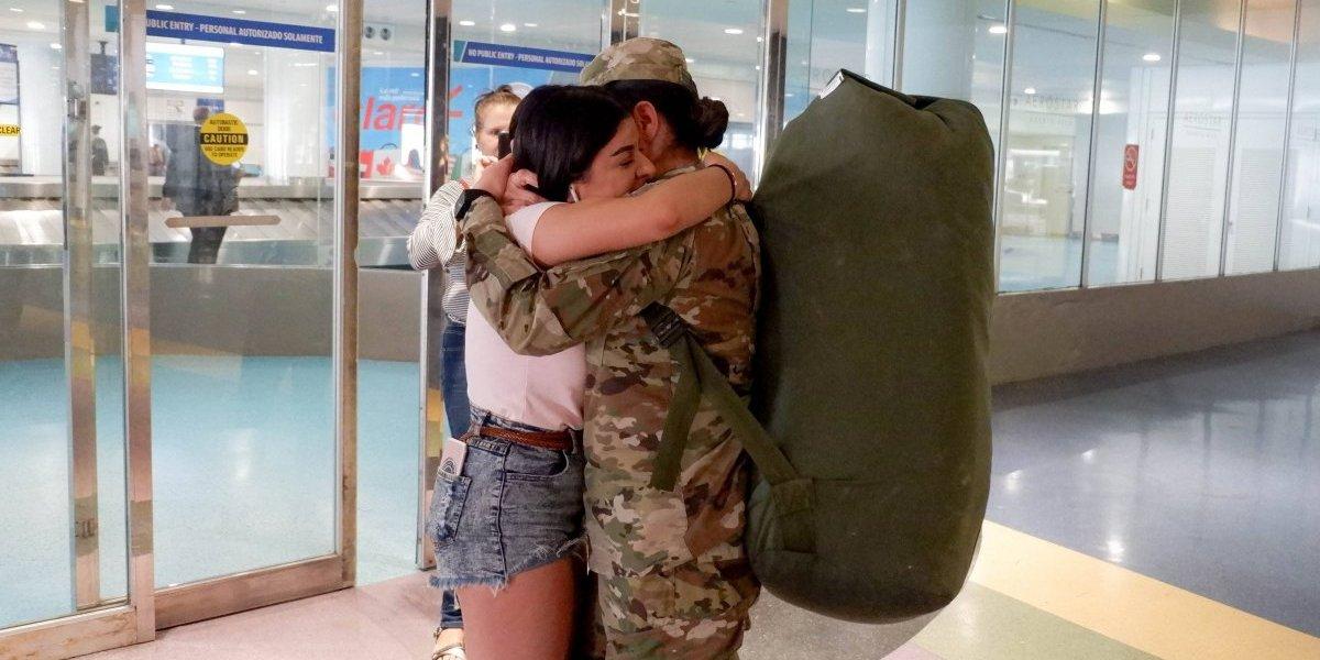 Regresan de Polonia soldados de la Guardia Nacional de Puerto Rico