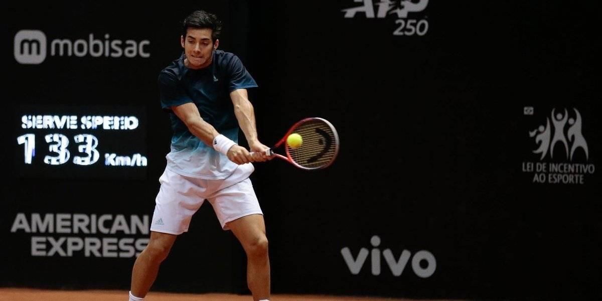 Así vivimos el triunfo de Garín ante el uruguayo Cuevas en el debut del ATP 250 de Houston