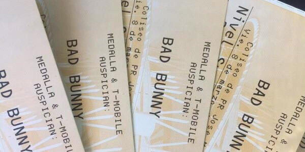 Ciudadanos reclaman fueron estafados con taquillas para Bad Bunny