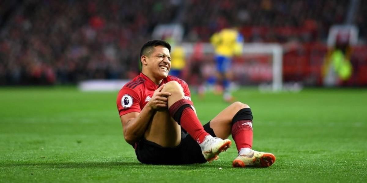 """""""Desganado, sin determinación y con un inglés pobre"""": El análisis que destroza a Alexis Sánchez en el United"""