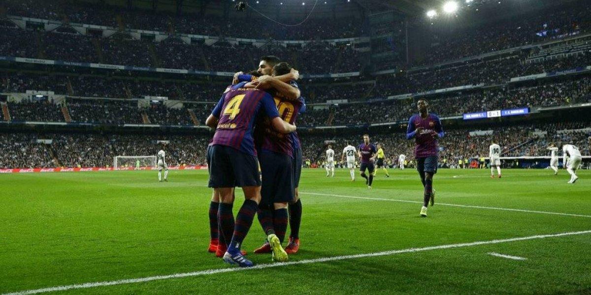 Barcelona vuelve a repetir la costumbre de vencer a Real Madrid con un ratito del luchador Vidal