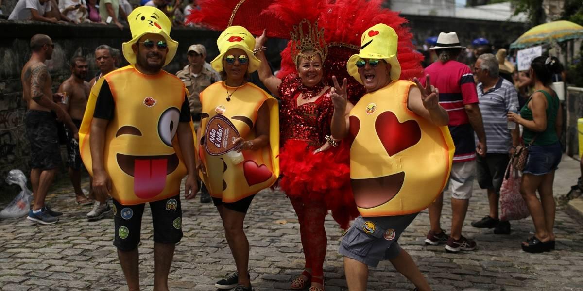 Bloco As Carmelitas: veja fotos do carnaval de rua no RJ