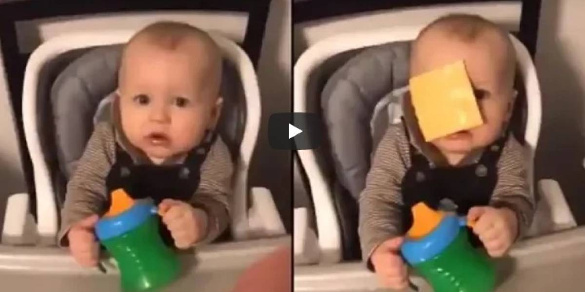 Cheese Challenge: el reto viral que desperdicia comida y molesta a los bebés