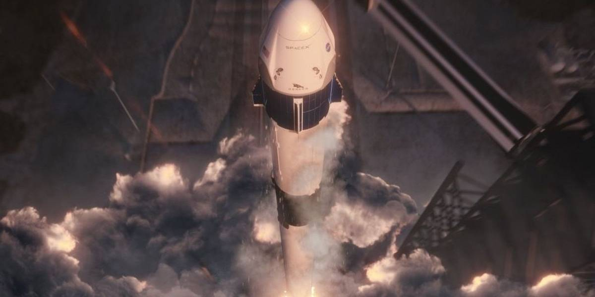 SpaceX lanza con éxito Crew Dragon, su primera nave para transportar astronautas a la EEI