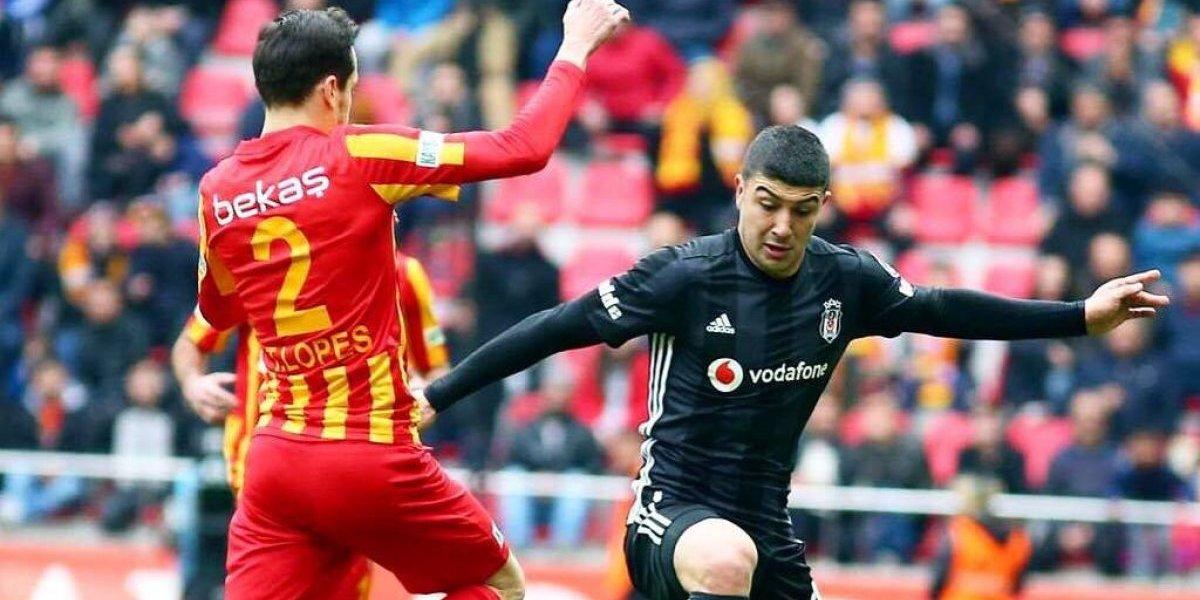 Gary Medel volvió a la titularidad en sufrido empate del Besiktas en la Superliga turca
