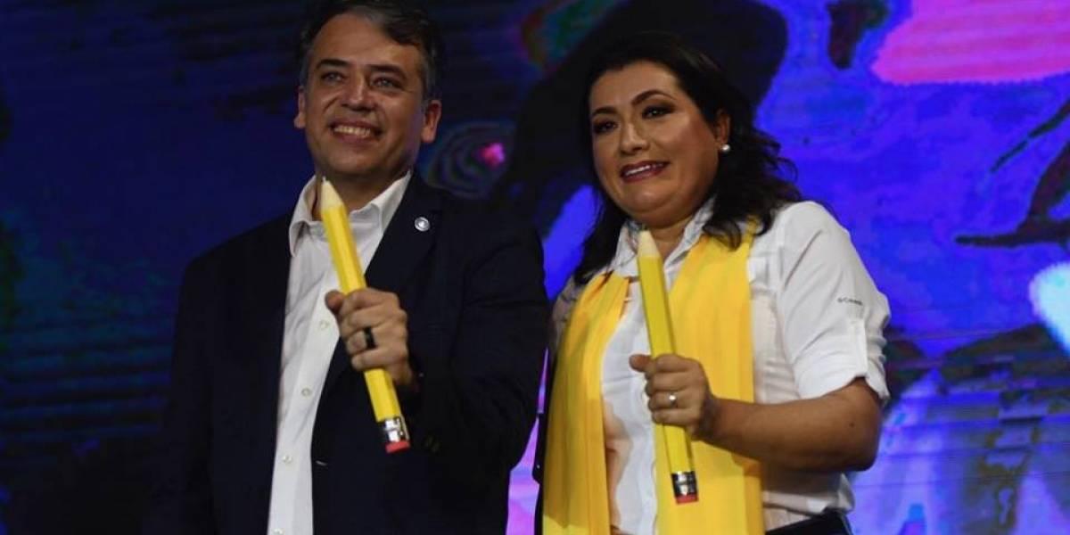 Prosperidad Ciudadana proclama a su binomio presidencial