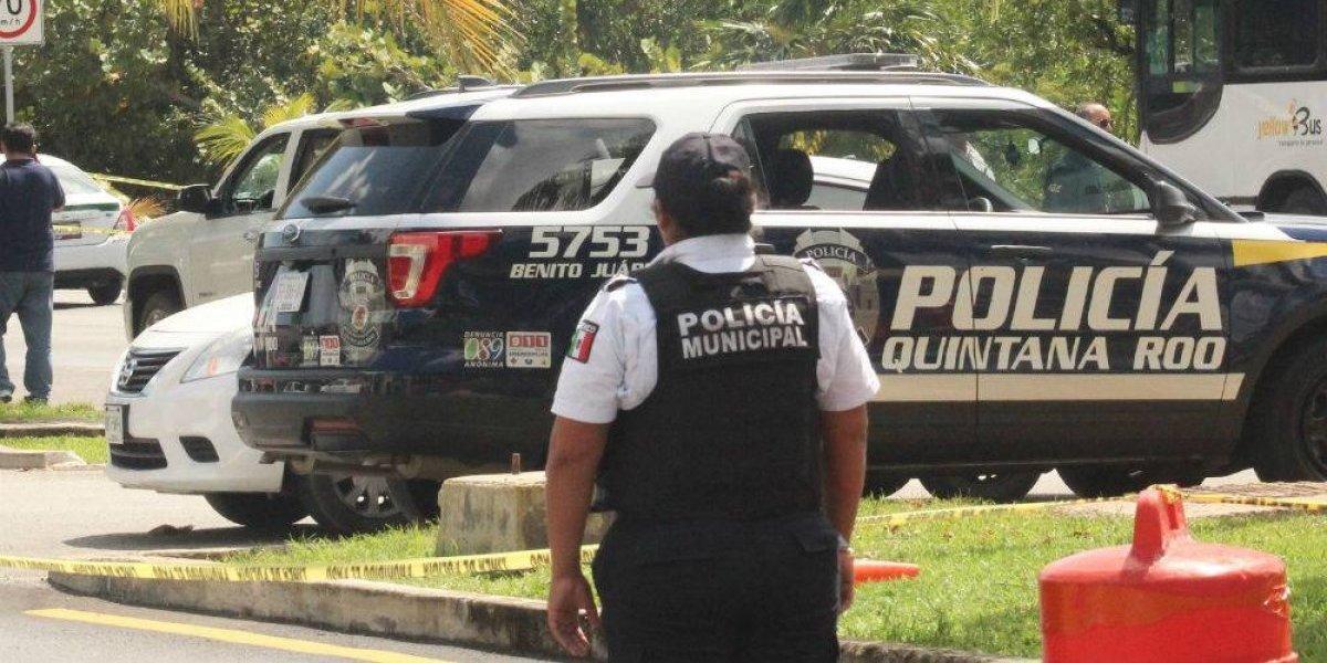 Enfrentamiento en Cancún deja tres personas muertas y un lesionado