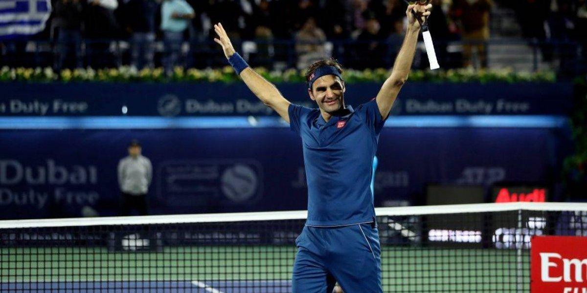 Inmortal y centenario: Roger Federer conquista Dubai y es el segundo tenista en ganar 100 títulos ATP