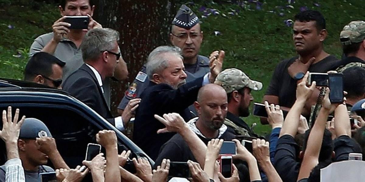 Lula regresa a prisión tras despedir a su nieto fallecido