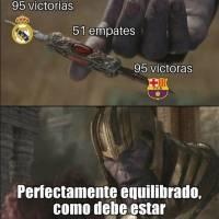 Memes del clásico español Real Madrid vs Barcelona
