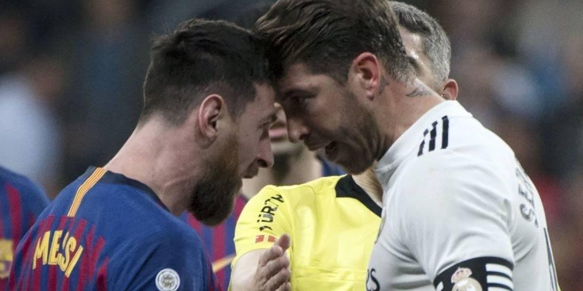 El cara a cara entre Messi y Ramos que generó polémica