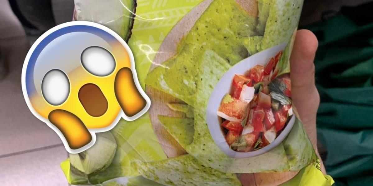 """La mercadotecnia no se detiene e impacta con nachos """"sabor guacamole"""""""