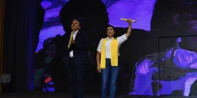 Edwin Escobar y Blanca Alfaro son el binomio presidencial de Prosperidad Ciudadana.