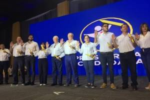 Prosperidad Ciudadana proclamó a su binomio presidencial y a candidatos a diputado.
