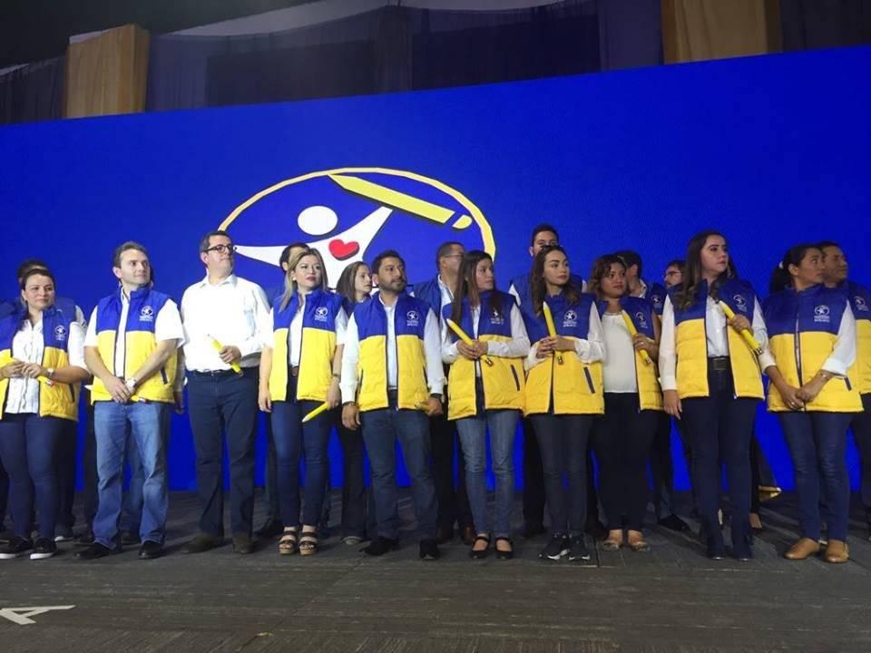 Prosperidad Ciudadana proclamó a su binomio presidencial y a candidatos a diputado. Foto: Omar Solís